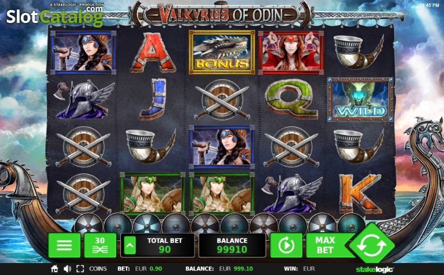 Spiele Valkyries Of Odin - Video Slots Online