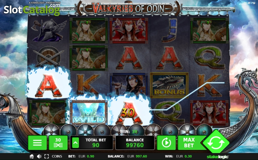 Spiele Valkyries Of Odin - Video Slots Online