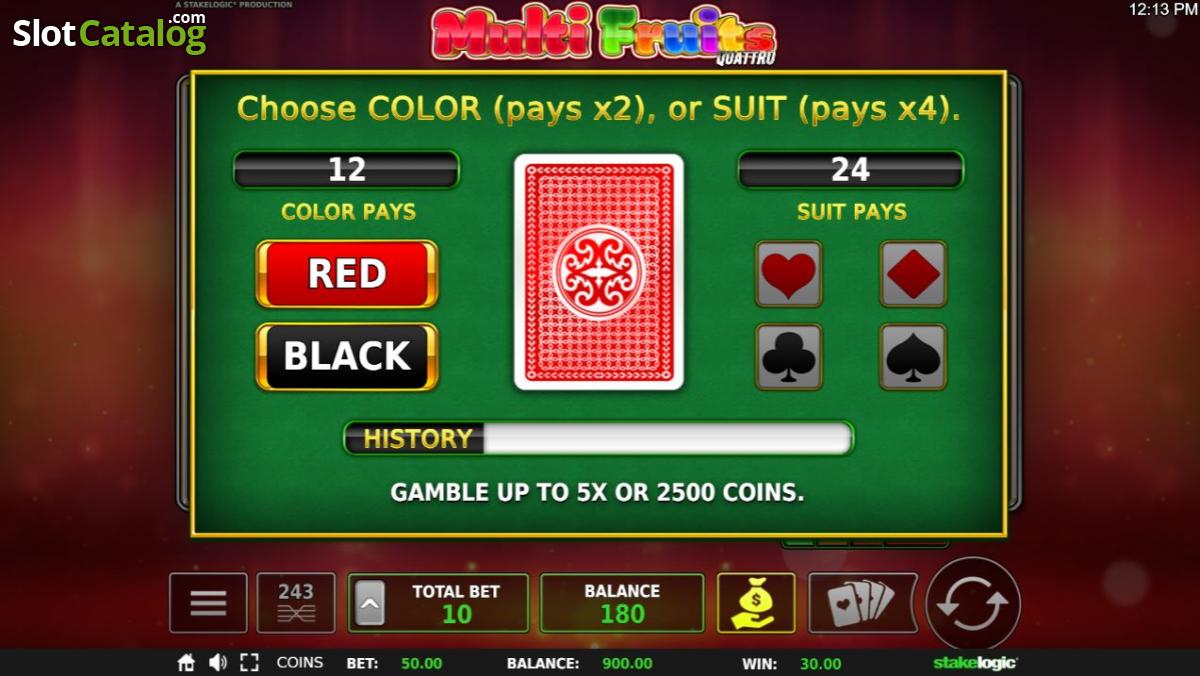 Casino slot machine rules