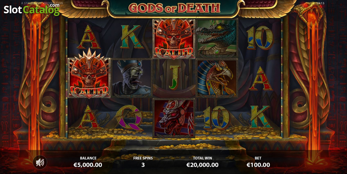 Spiele Gods Of Death - Video Slots Online