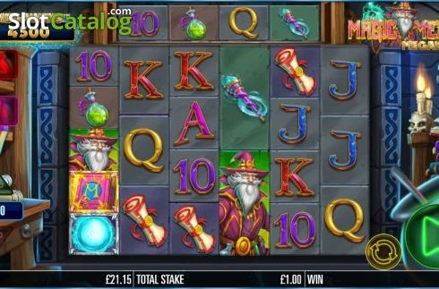 Game workflow . Magic Merlin (Video Slot from Storm Gaming)