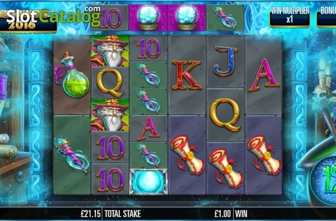Game workflow 2. Magic Merlin (Video Slot from Storm Gaming)