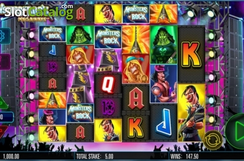 Monsters of Rock Megaways (Video Slot from Storm Gaming)