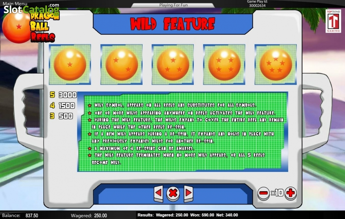 Spiele Dragon Ball Reels - Video Slots Online
