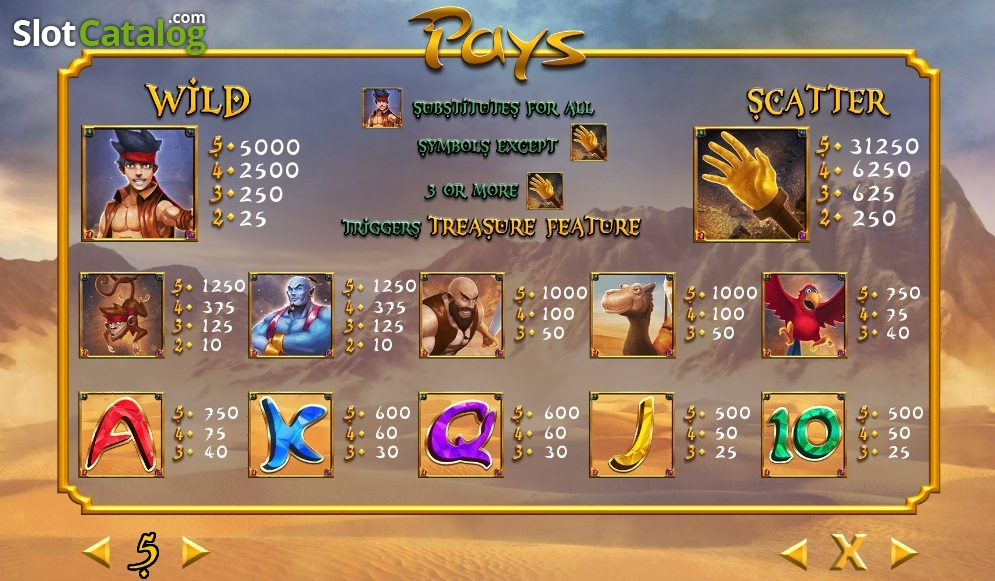 Spiele Aladdin Hand Of Midas - Video Slots Online