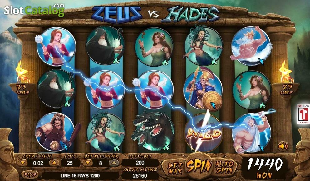 Free Casino Games Zeus