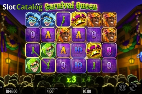 Képernyő3. Carnival Queen (Video Slot tól től Thunderkick)