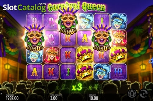 Képernyő8. Carnival Queen (Video Slot tól től Thunderkick)