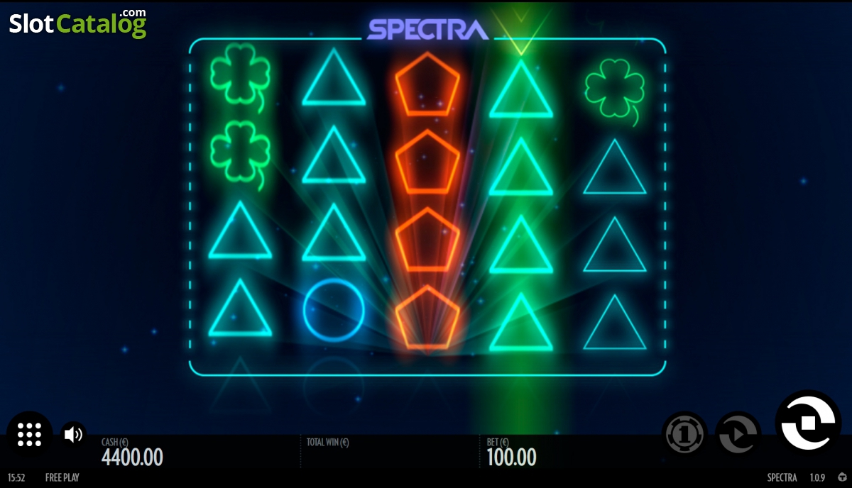 Spectra slot - gain spectacular wins at Casumo