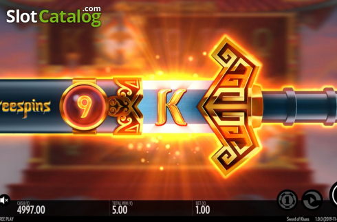 Free Spins. Sword Of Khans (Video Slots from Thunderkick)