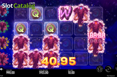 big win. Pink Elephants (Video Slot from Thunderkick)