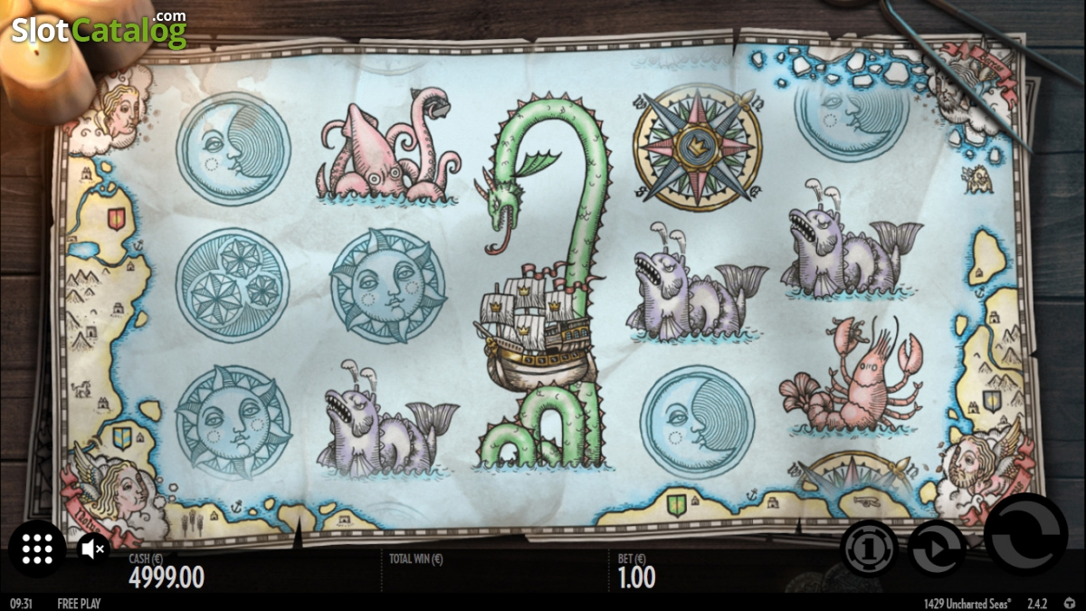 Spiele 1429 Uncharted Seas - Video Slots Online