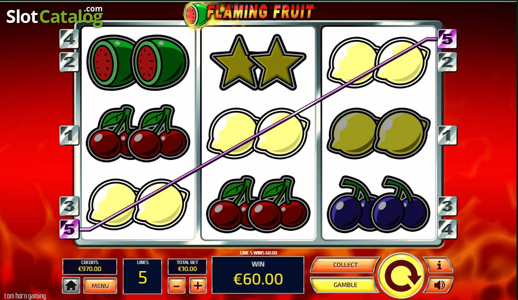 Flaming Fruits Slot Machine