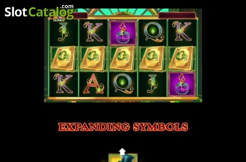 Skjerm11. Book of Oz (Video Slot fra Triple Edge Studios)