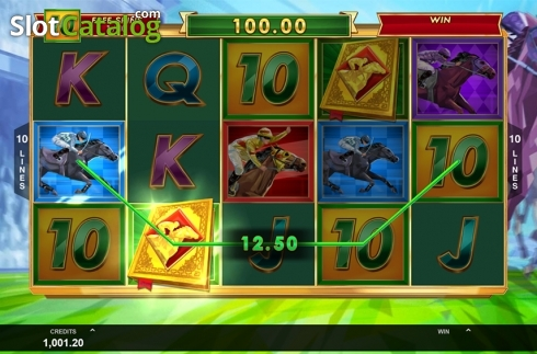 Free spins screen 1. Bookie of Odds (Video Slot from Triple Edge Studios)