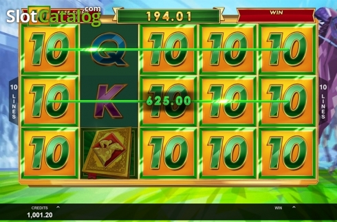Free spins screen 2. Bookie of Odds (Video Slot from Triple Edge Studios)