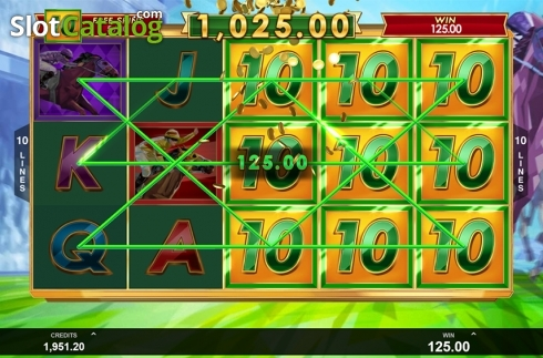 Free spins screen 4. Bookie of Odds (Video Slot from Triple Edge Studios)