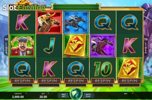 Reels screen. Bookie of Odds (Video Slot from Triple Edge Studios)