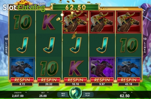Win screen. Bookie of Odds (Video Slot from Triple Edge Studios)
