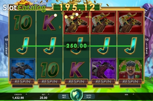 5 of a kind win screen. Bookie of Odds (Video Slot from Triple Edge Studios)