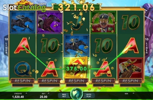 Wild win screen. Bookie of Odds (Video Slot from Triple Edge Studios)