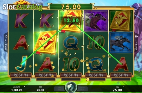 Free spins win screen. Bookie of Odds (Video Slot from Triple Edge Studios)