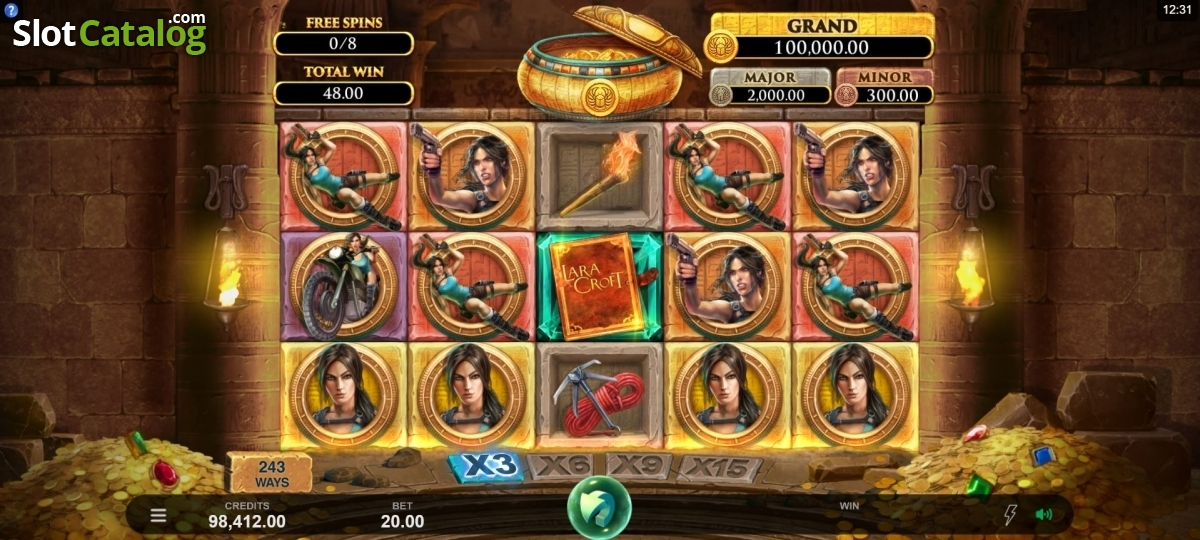 Spiele Lara Croft Temples And Tombs - Video Slots Online