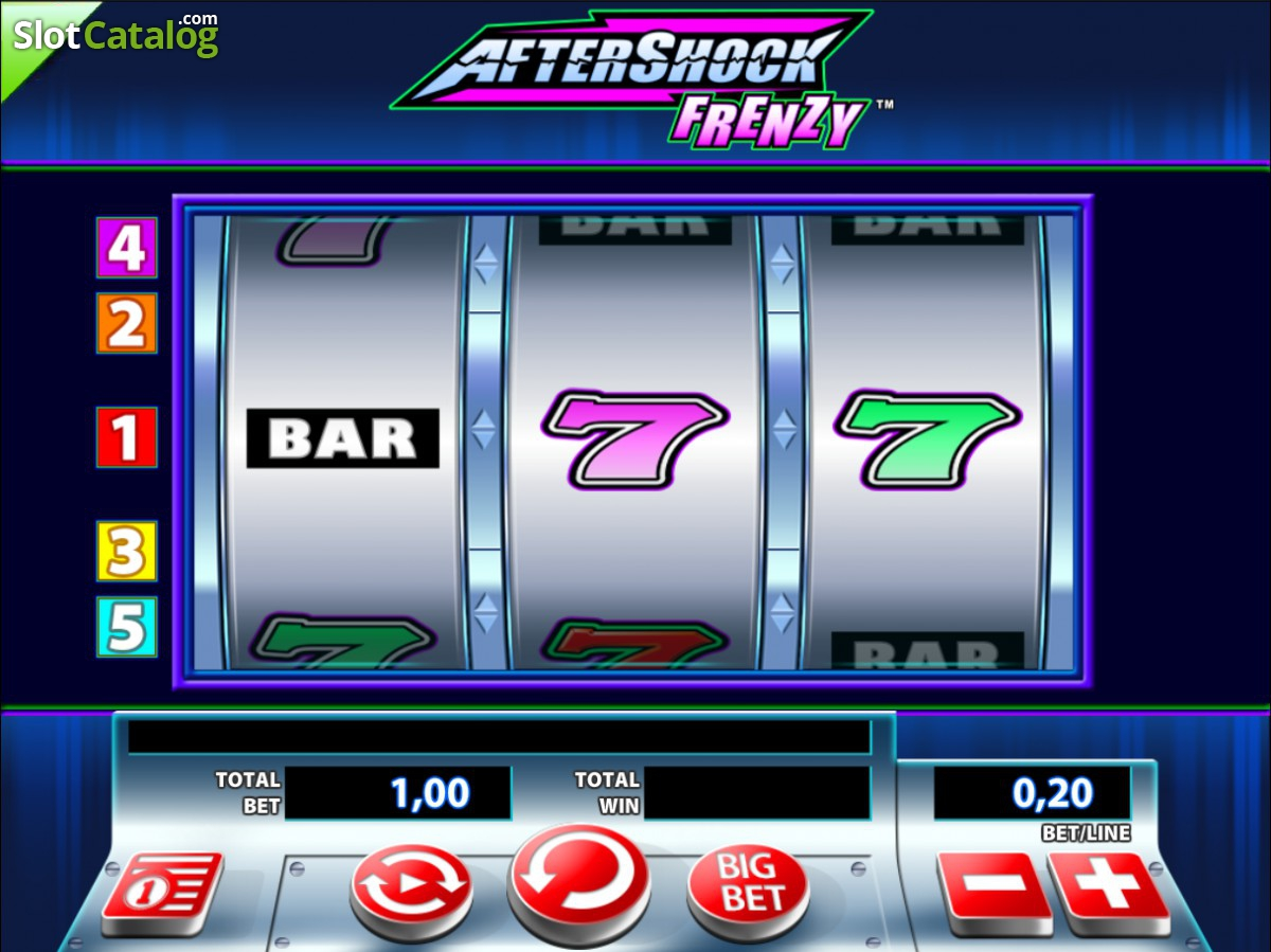 Aftershock Slot Machine - Play Free Aftershock Slots by WMS