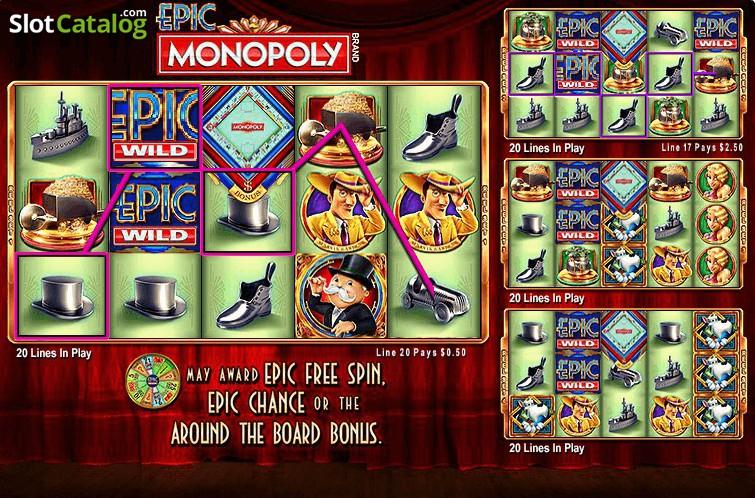 Spiele Epic MONOPOLY - Video Slots Online