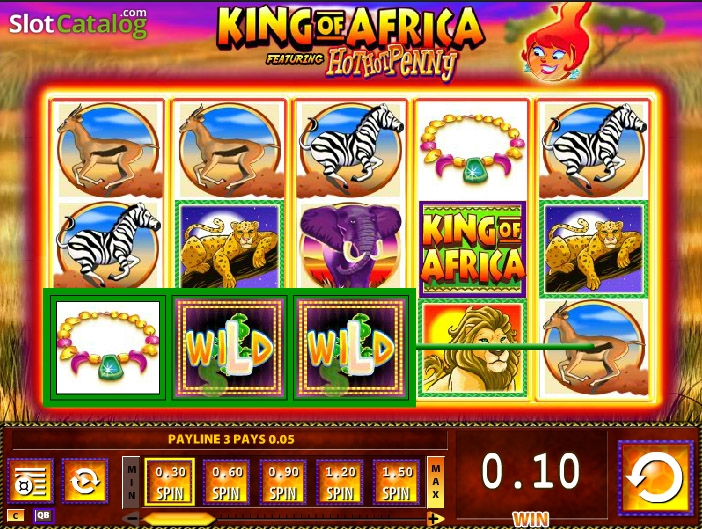 King Of Africa Slots