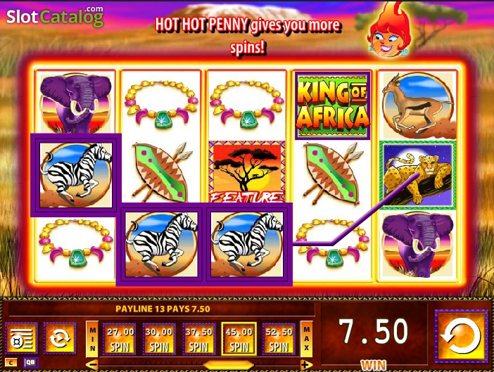 Slots king of africa