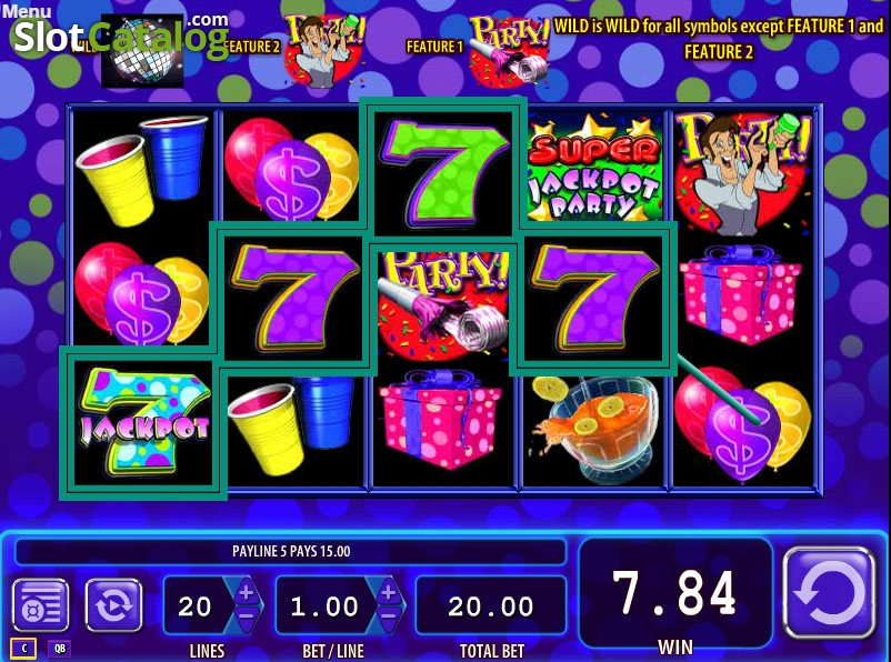 Super Jackpot Party Slot ᐈ Claim a bonus or play for free!