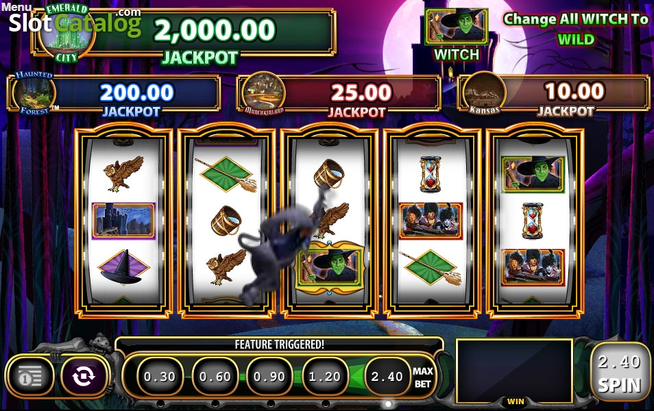 Spiele Wizard Of OZ Wicked Riches - Video Slots Online
