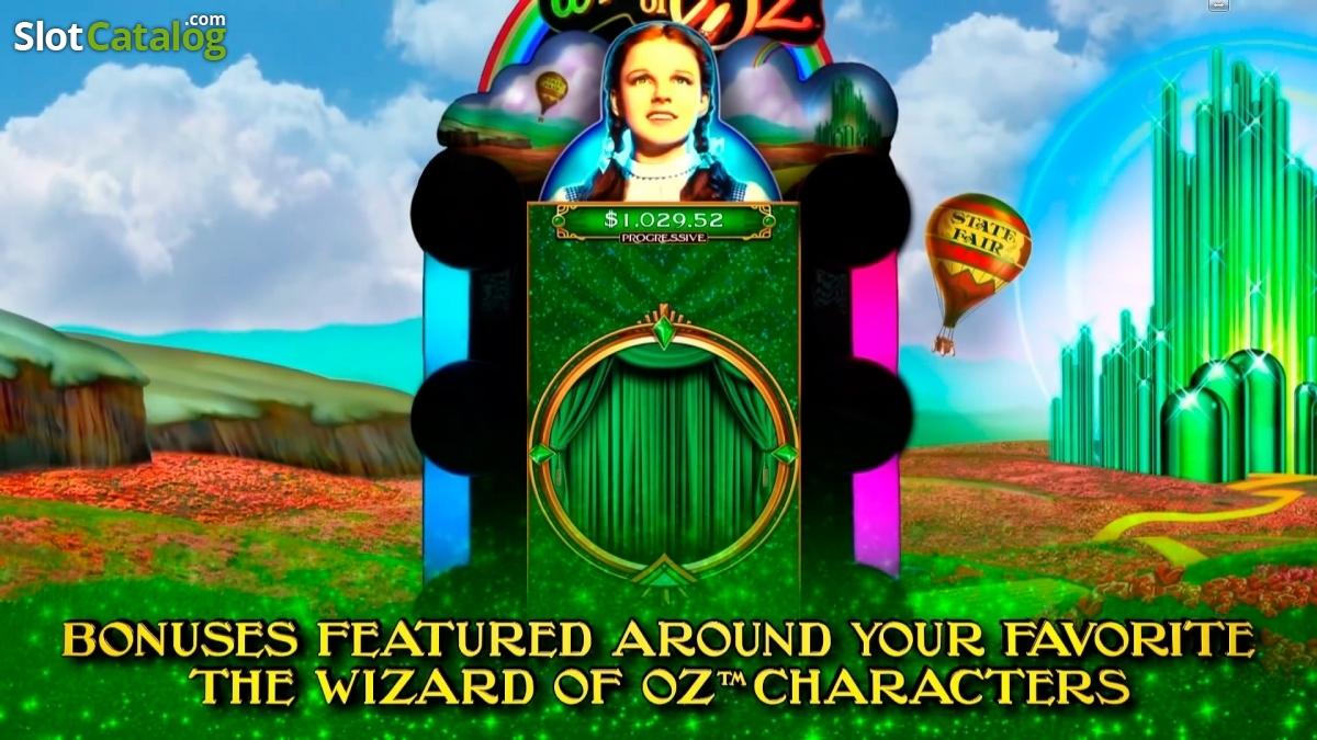 wizard of oz - road to emerald city casino