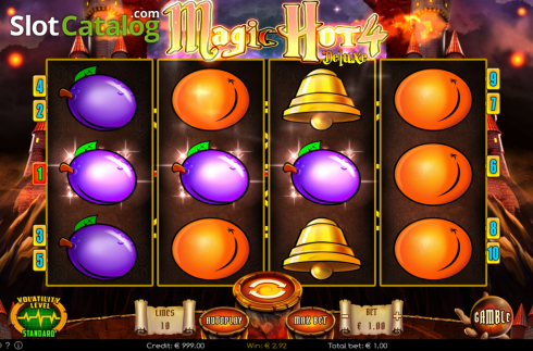 Win. Magic Hot 4 Deluxe (Video Slot from Wazdan)