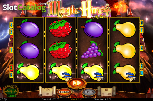 Win 2. Magic Hot 4 Deluxe (Video Slot from Wazdan)