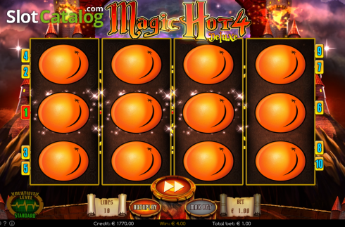 Win 3. Magic Hot 4 Deluxe (Video Slot from Wazdan)