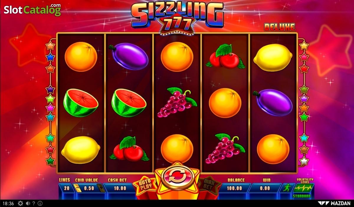 Spiele Sizzling 777 Deluxe - Video Slots Online