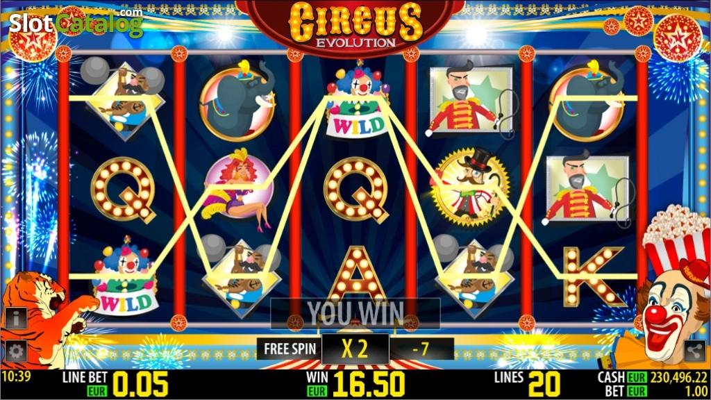 Spiele Circus Evolution - Video Slots Online