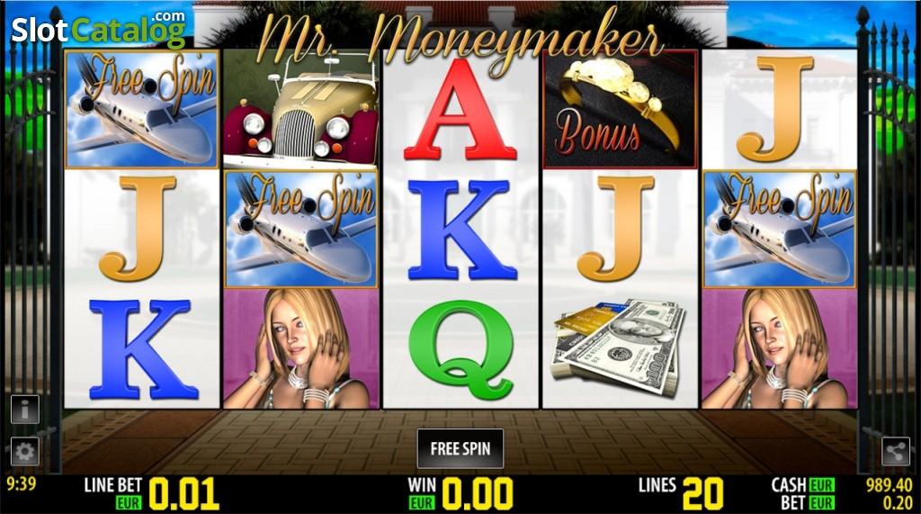 Spielautomat mr money maker kostenlos online