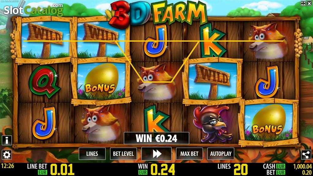 Spiele 3D Farm - Video Slots Online