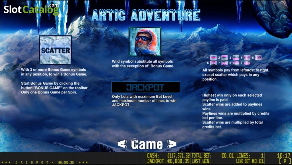 Spiele Artic Adventure - Video Slots Online