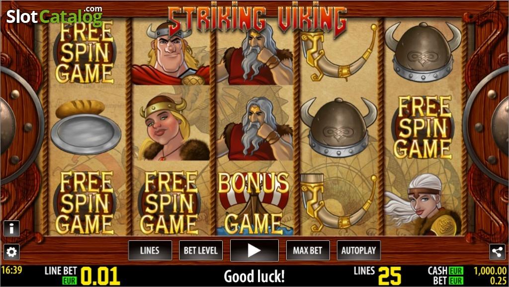 Spiele Striking Viking - Video Slots Online