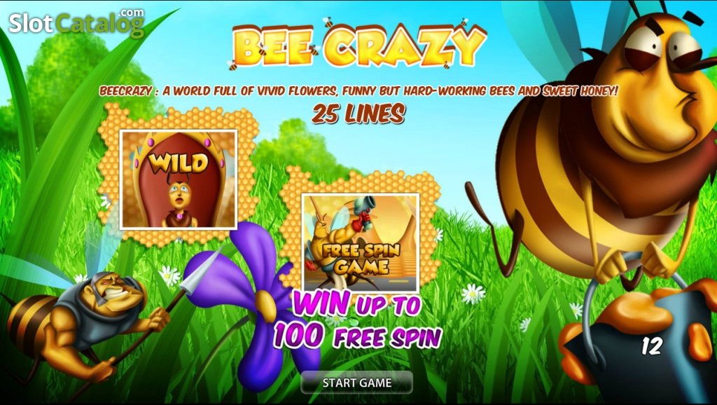 Bee Crazy Slot - Read the Review and Play for Free
