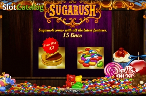 Sugarush HD (Ranura de video de World Match)