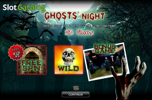 Ghosts' Night HD (Video Slot from World Match)