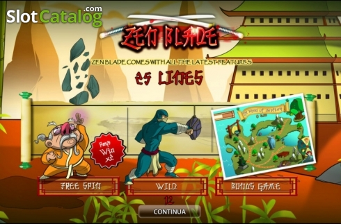 Zen Blade HD (Video Slot fra World Match)