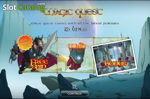 Magic Quest HD (Video Slot fra World Match)