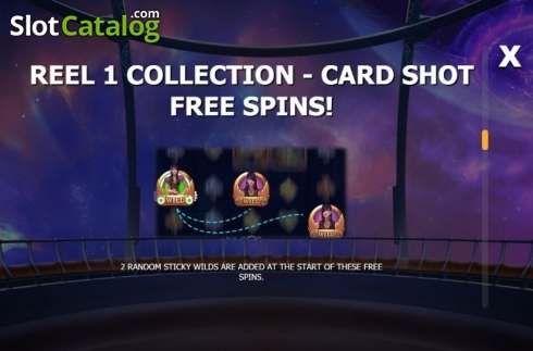 Collection 1. Cazino Cosmos (Video Slot from Yggdrasil)