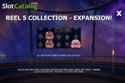 Collection 5. Cazino Cosmos (Video Slot from Yggdrasil)